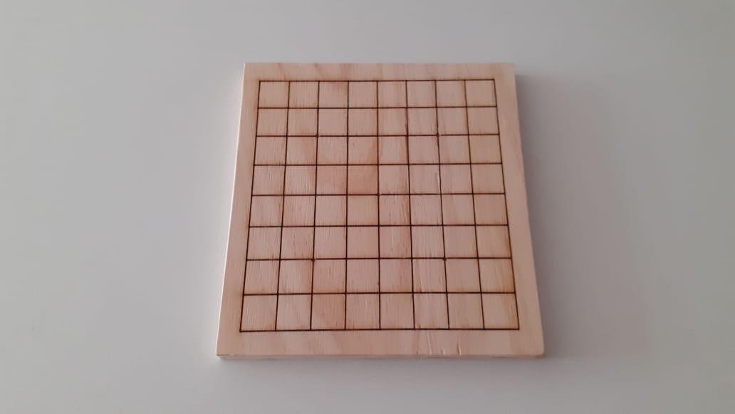 Tablero de Madera (9x9)